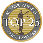 Inclusion Among Top 25 Motor Vehicle Trial Lawyers