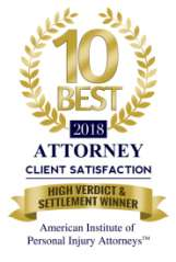 Winner 2018 10 Best High Verdict & Settlement