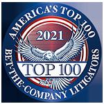 2021 Bet The Company Litigators Award